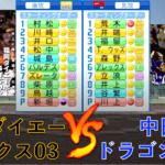 福岡ダイエーホークス(2003) vs 中日ドラゴンズ(2006)【パワプロ2020】