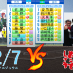 22/7と水曜どうでしょう軍団が野球対決!!【パワプロ2020】