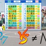 22/7(ナナブンノニジュウニ) vs ≠ME(ノットイコールミー)【パワプロ2021】