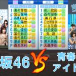 日向坂46野球部と青春高校3年C組アイドル部が交流戦を行ったようです【パワプロ2021】
