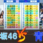 日向坂46野球部 と 青道高校(ダイヤのA actⅡ)が交流試合を行ったようです【パワプロ2021】