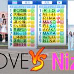 =LOVE(イコールラブ) と NiziUが野球交流戦を行いました【パワプロ2021】