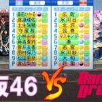 櫻坂46とバンドリ!野球部が交流戦を行いました【パワプロ2021】