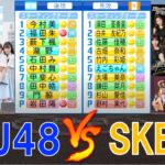 STU48 と SKE48が48野球交流戦を行いました【パワプロ2021】